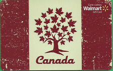 Walmart Canada Canada Maple Tree GIFT CARD FROM CANADA BILINGUAL NO VALUE