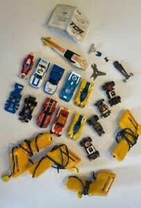 Aurora AFX, Ideal TCR Tyco G-Plus Jam Slot Cars & Controllers