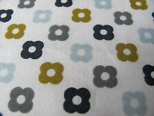 Orla Kiely MULTI FLOWER SPOT ROCKPOOL 2M /2M 200cm square fabric new lightweight