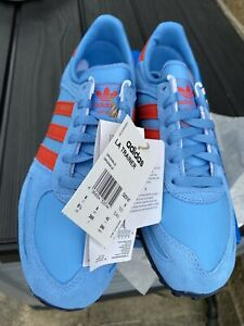 Adidas LA Trainer Blue Red Manchester Size 8 UK BNIBWT