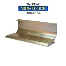 Door Barricade Brace The NIGHTLOCK Security Lock BRUSHED NICKEL FINISH