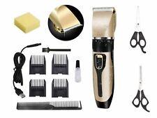Professional Cordless Electric Hair Trimmer Set for Kids Pets Men