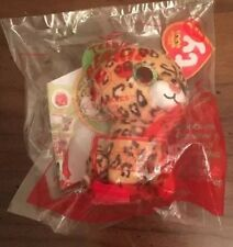 2017 McDonalds TY Teenie Beanie Baby Boos #14 Freckles Leopard Happy Meal Toy