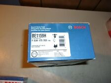 Disc Brake Pad Set-Blue Brake Pads with Hardware Front Bosch BE1159H