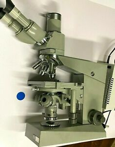 Carl Zeiss Jena Mikroskop Amplival DDR CZJ