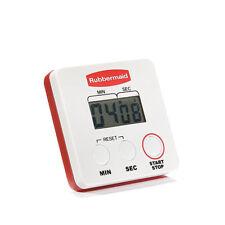 Rubbermaid FGR442188 Digital Timer  99 Minute Clock/Timer Stopwatch, Pocket Clip