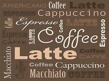 COFFEE CAPPUCCINO LATTE ESPRESSO PHOTO ART PRINT POSTER PICTURE BMP656A