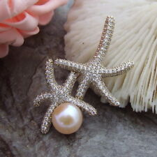 Natural 11mm Pearl Brooch