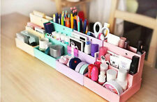 Paper Board Storage Box Desktop Book Organizer Makeup Cosmetic Container EW