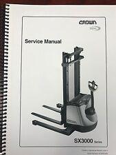 heavy equipment manuals books for crown for sale ebay rh ebay com crown 35rrtt parts manual crown forklift 35rrtt manual