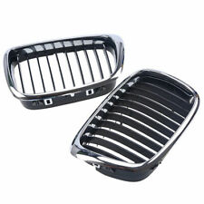 Pair Front Kidney Grill Grille for BMW 5 Series E39 M5 525 528 530 540 1995-2004