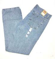 URBAN PIPELINE Jeans Regular Fit Blue Straight Leg 100% Cotton Light Stonewash