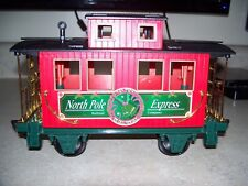 Scientific Toys G Scale North Pole Express Christmas Holiday Caboose