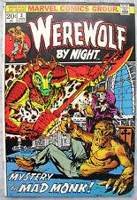 Werewolf By Night #3 1973 20¢ Cover Mike Ploog Art KEY Very Nice BIG PICS!