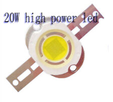 1PC 20W high power LED White 6000K 20watt Lamp Bulb Chip LED Diode