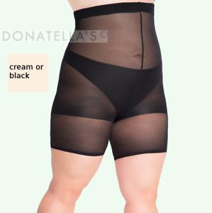 PLUS SIZE CONTROL shorts XL XXL 2X 2XL 16 18 20 22 slimming shaping anti chafing
