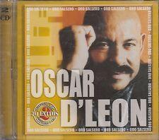 Oscar D Leon Oro Salsero 2CD New Sealed