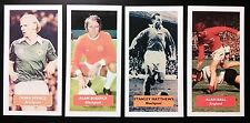 Complete collection of 4 BLACKPOOL Score UK football trade cards BALL MATTHEWS +