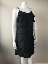 Nicola Finetti Origami Folded Little Black Dress Size 10 Cocktail Party Evening