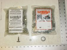 120 WOODYS Signature Series Stud 1.075 Studs Round Alum Backer Snowmobile Track