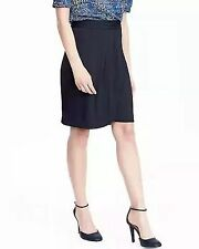 NWT women's Banana Republic, Size 6 Ruched Tulip Skirt Navy Blue NEW