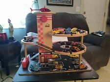30 Hot Wheels Cars With Parking Garage.
