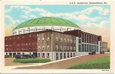 L.D.S. Auditorium in Independence MO Postcard