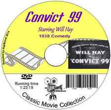 Convict 99 -  Will Hay- British Comedy Film on DVD 1939