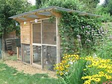 Backyard Chicken Coop Plans: The Garden Coop Plan eBook on USB Flash Drive