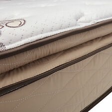 NuForm Quilted Pillow Top 11-inch California King-size Plush Foam Mattress