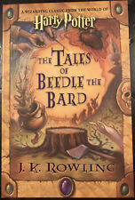 JK Rowling Harry Potter The Tales of Beedle the Bard FIRST EDITION 2008 New