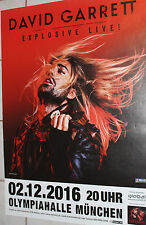 David Garrett - Tourposter/Tourplakat 2016 - München