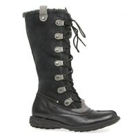 BUSSOLA Brown Suede/Leather Lace Up Boots UK 6 EU 39 LG04 01 SALEw