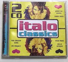 ITALO CLASSICS . brani di Ryan paris, Belle Epoque, Frankie roberts... . 2 CD