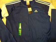 NWT Adidas Youth XL  Dark Royal Blue Warm Up  Casual Jacket MSRP $60.00