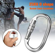 Moschettone Arrampicata Alpinismo Bloccaggio A Vite O-Ring 25KN Carabiner buckle