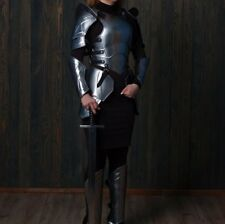 "Medieval Armor FULL SET Lady Larp ""Queen of the war"" Halloween Costume Cosplay"