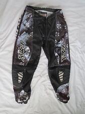 Fox 180 Girls/Womens Racing Pants Motorcross  BLK/Blue 9/10