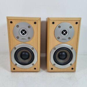 Hitachi HS-M7 Pair of Bookshelf Stereo Speakers 50W 6 Ohms