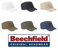 Cappello BEECHFIELD berretto ARMY CAP cappello militare COTONE - 6 colori HATS #