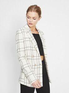Miss Selfridge Boucle Jacket