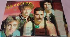Queen Centerfold Clipping Poster From Magazine 80'S Freddie Mercury