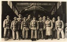More details for southend on sea essex lifeboat crew  unused rp old pc