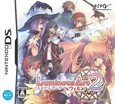 Used Nintendo DS Luminous Arc 2: Will Japan Import (Free Shipping)、