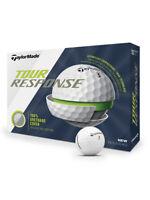 TaylorMade Tour Response Golf Balls - 1 Dozen White -  Mens