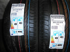 2x 205/55 16 91V BRIDGESTONE  2x 2055516 BRAND NEW PREMIUM QUALITY CAR TYRES