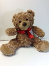 Bears That Care Stuffed Animal Brown with Red Ribbon Bear 17 Inches Long