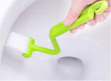 Sanitäre S-Typ Toilettenbürste Gebogene Bent Griff Reinigung Scrubber Nizza