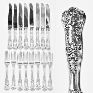 Blenheim by Mayer Sterling Silver Salad Fork 5 34