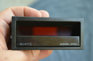 1984-1987 Honda Civic CRX Digital Clock Dashboard OEM by CITIZEN watch OEM part